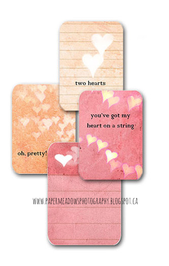 Paper Meadows Photography Blog- Free Printable- Planner Cards, Quote Cards, Journal Cards, Vision Board Cards, Valentine Quote Cards