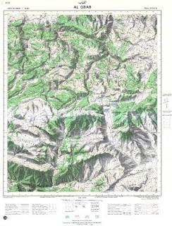 Carte Topographique AL-QBAB Morocco 50000 (50k) Topographic map free download