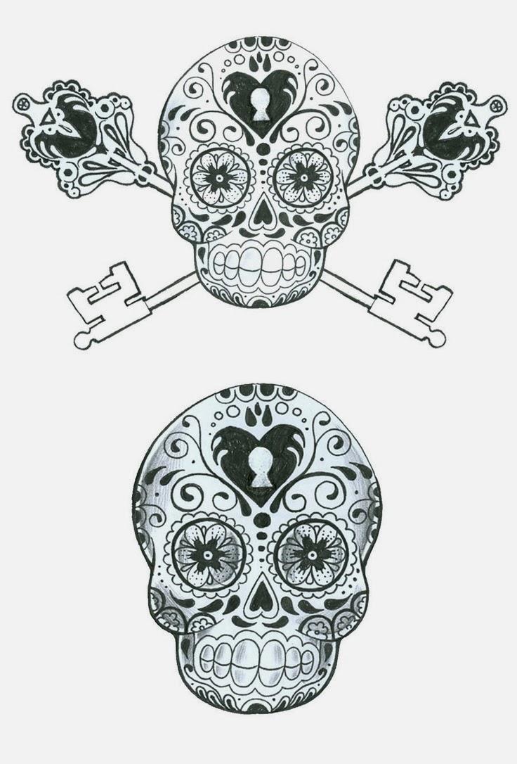tattoos book 2510 free printable tattoo stencils skulls. Black Bedroom Furniture Sets. Home Design Ideas