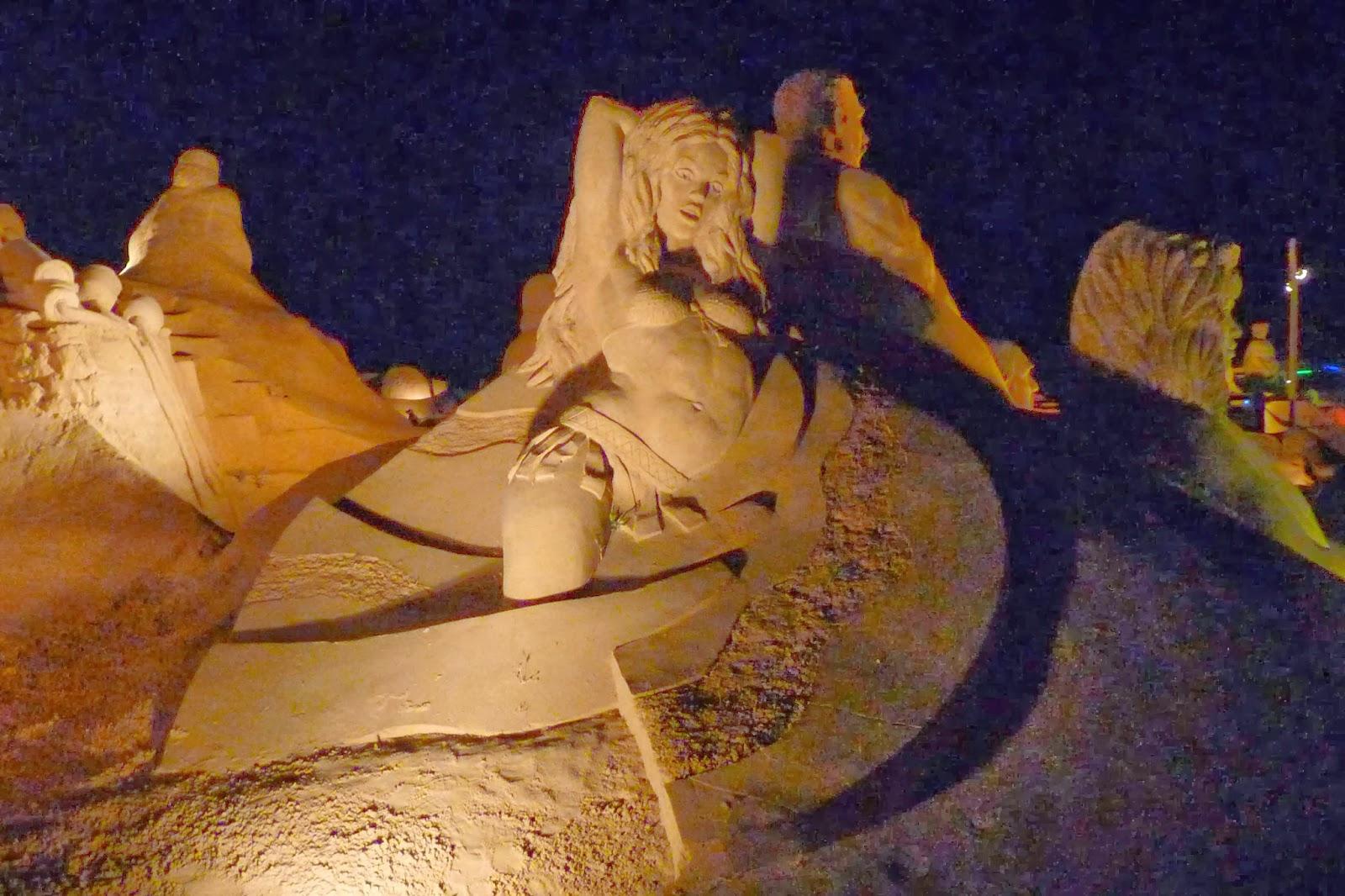 Fiesa o Festival Internacional de Esculturas de Arena.