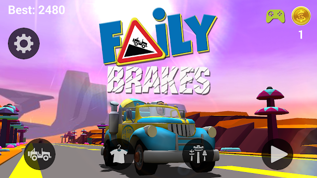 Faily Brakes - Homepage  |  For Gamers Like Me