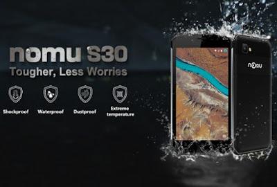 Numo S30 dust-proof, shockproof, scratchproof smartphone