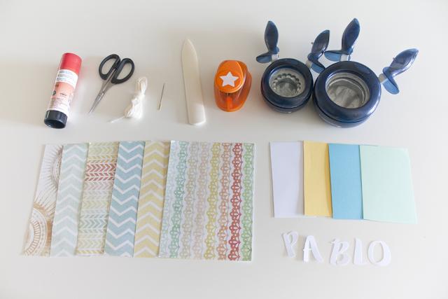 tutorial guirnalda barcos de papel