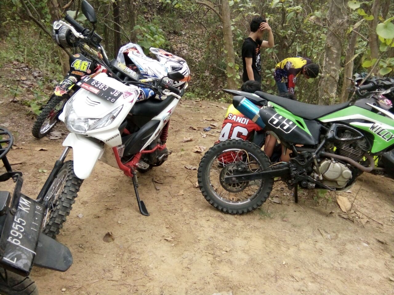 Cara Modif Honda Beat Jadi Trail Terlengkap Motor Cross