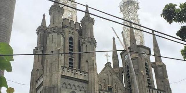 Tak ada rekayasa lalu lintas di sekitar Gereja Katedral saat Natal