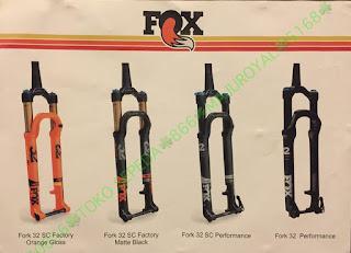 Spesifikasi Fork Rear Shock Seatpost FOX 2017 4