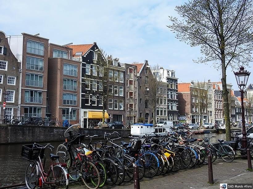 Algumas bicicletas de Amsterdam - Diário de Bordo - 2 dias em Amsterdam