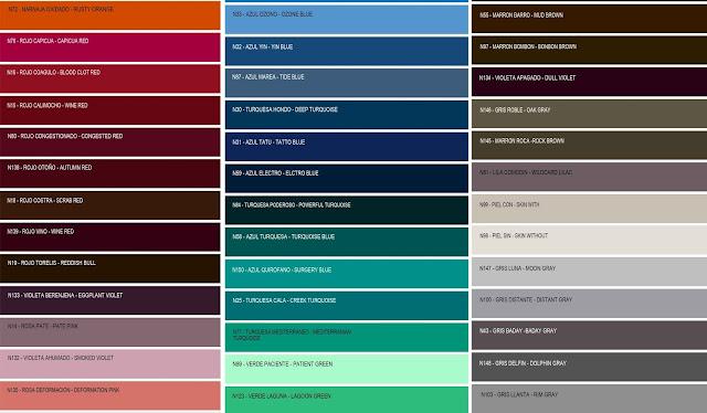 Todos los colores NBQ company