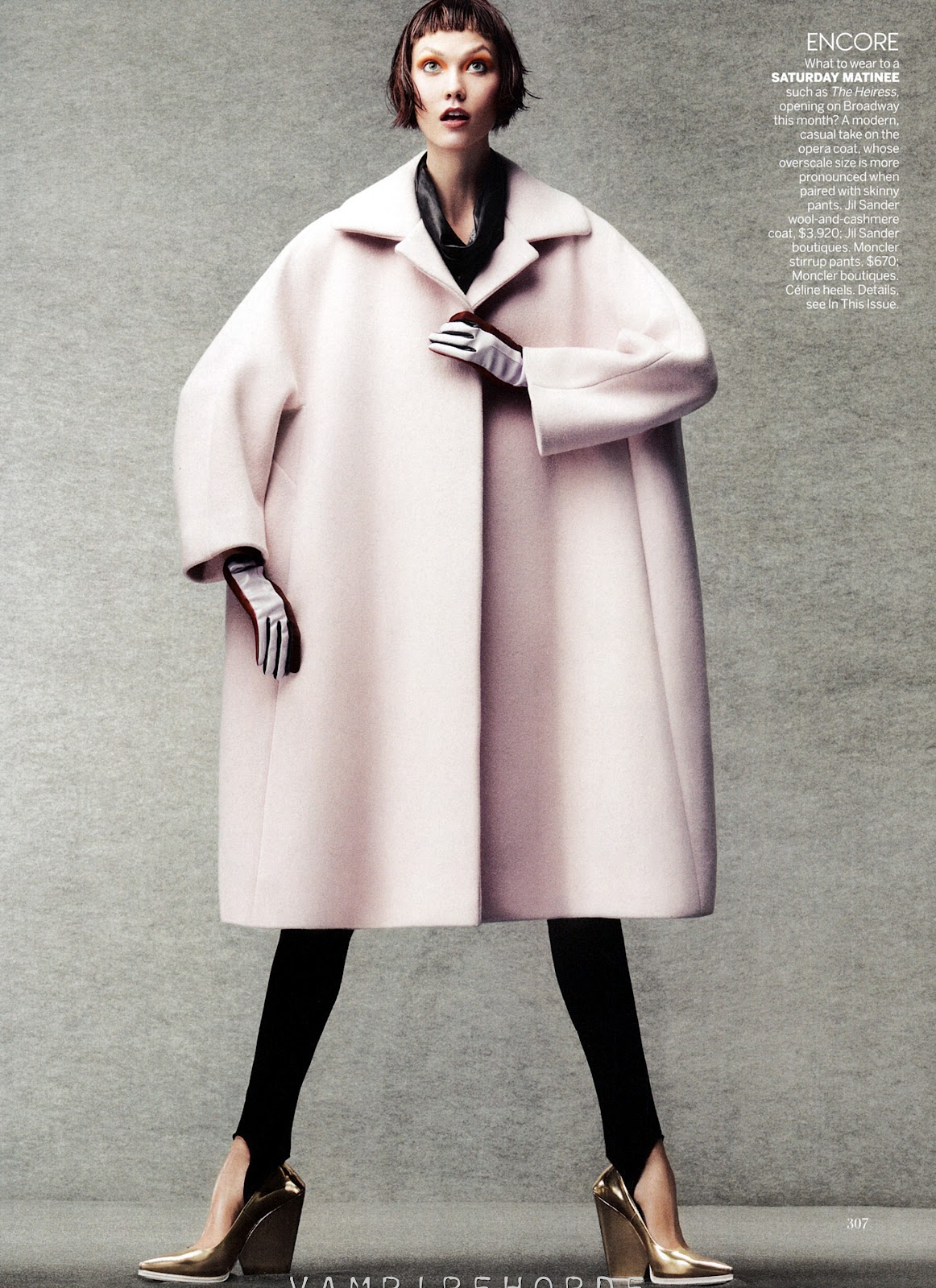 Vogue Usa Magazine Subscription: Cover Me: Karlie Kloss And Daria Strokous By Craig Mcdean
