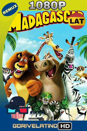 Madagascar (2005) BDRmux 1080p Latino-Ingles MKV