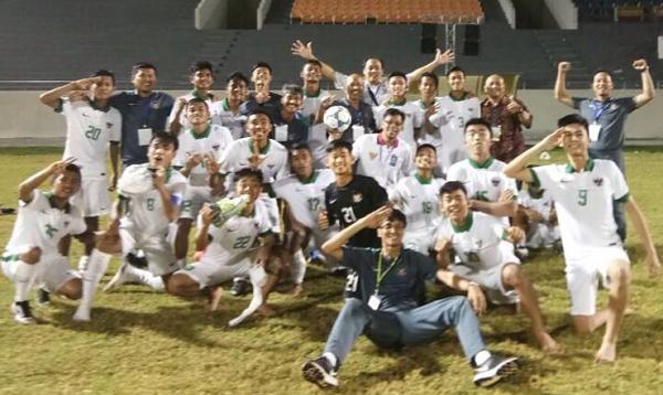(Video) Parade Gol 4-1 Timnas Indonesia U-16 Saat Bungkam Myanmar
