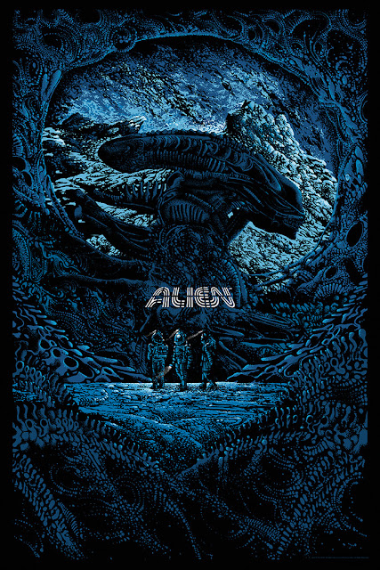 Alien Day 2016 Exclusive Alien Screen Print by Kilian Eng x Mondo