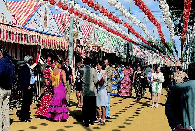 Casetas da Feria de Sevilha