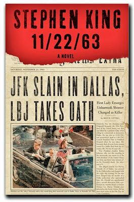 11/22/63 by Stephen King - book cover