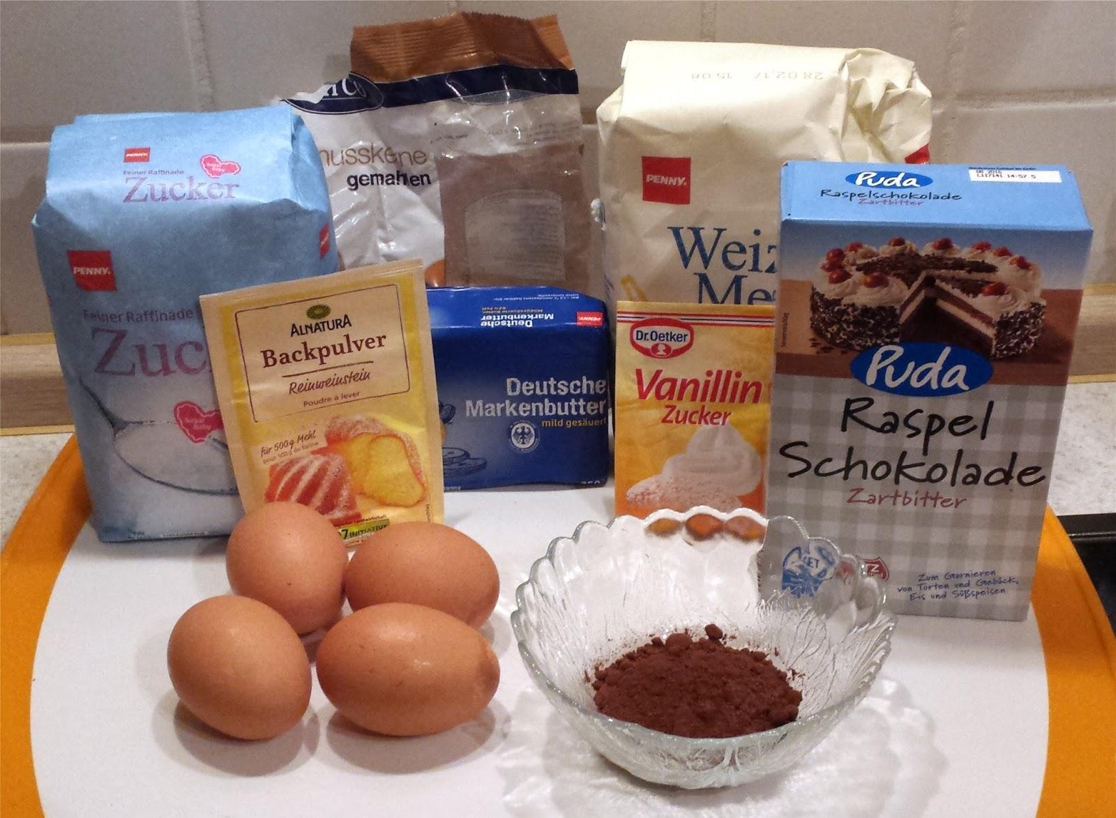 Maulwurfkuchen Mit Kirschfullung