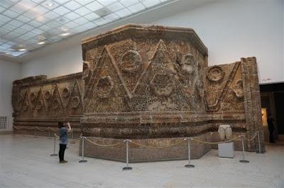 Fachada del Palacio de Mushatta