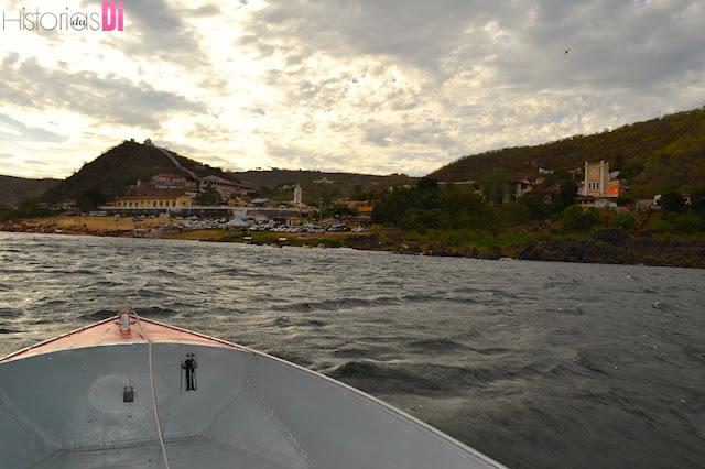 O povoado de Entremontes vista do barco!