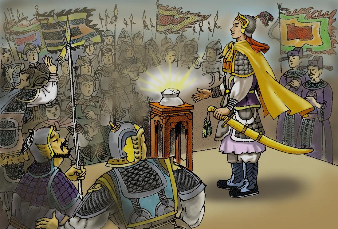 Thơ chế Thạch Sanh và Lý Thông bằng lục bát thời hiện đại (Phần kết)