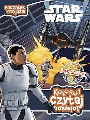 Egmont: Zapowiedź Star Wars: Początek przyjaźni (Koloruj, czytaj, naklejaj)