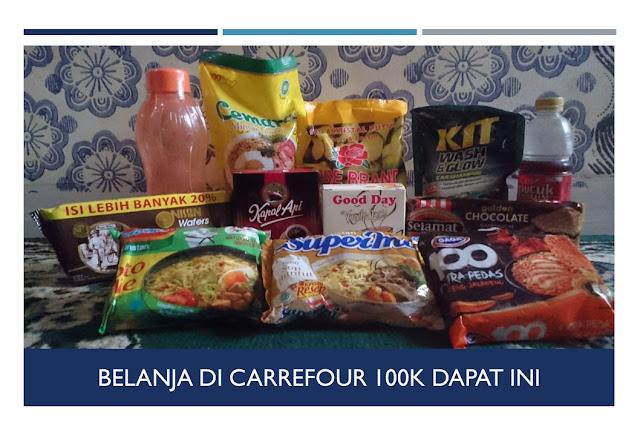 Pengalaman Belanja Pakai Voucher Carrefour - Blog Mas Hendra