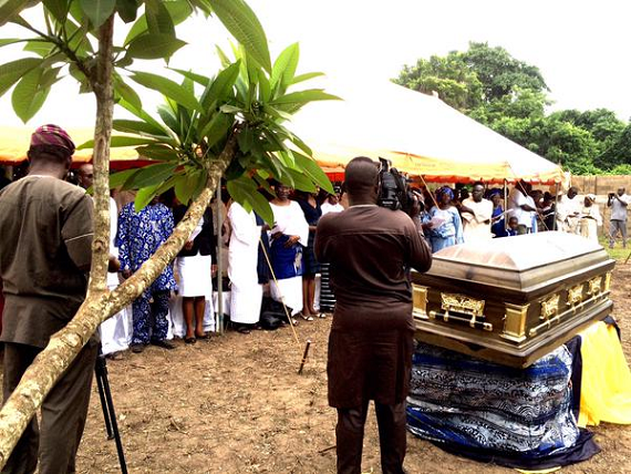 francis oladele burial