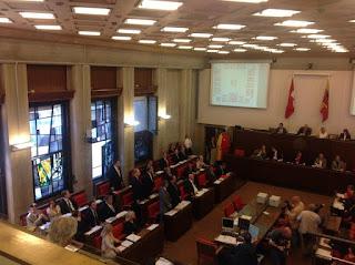 La prestation de serment du Conseil municipal