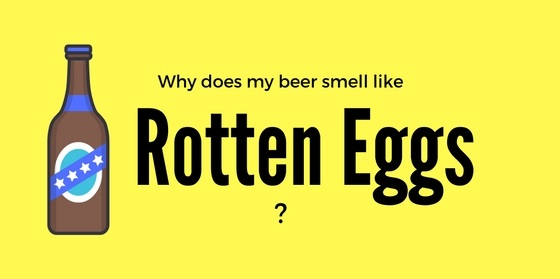 Why does my beer smell like rotten eggs?