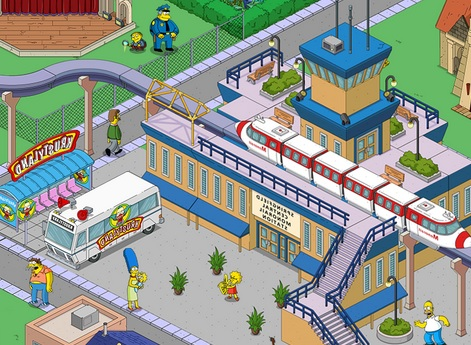 The Simpsons Tapped Out 4.31.0 MOD APK Android