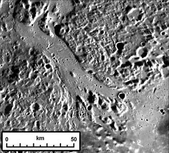 Mercury Volcanic Channels