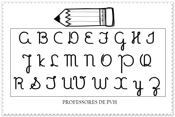 Alfabeto Completo Maiusculo E Minusculo Para Imprimir Ponto Cruz