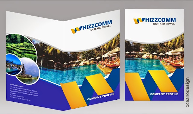 company profile whizzcomp  jasa desain grafis jogja