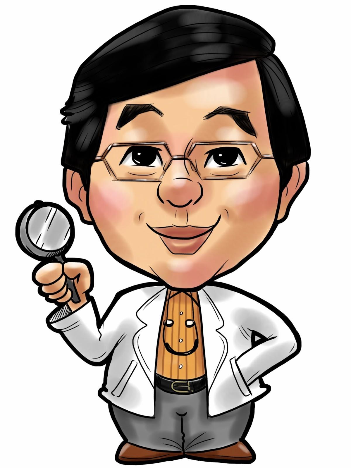 阿傑老師專業人像漫畫服務: 20130514 人形立牌設計