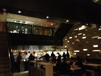 Momofuko Toronto dining room