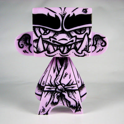 ONI Custom GID Purple 5 Inch Mad'l Vinyl Figure by MAD