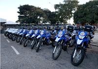Novas motos para polícia