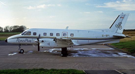Ryanair, first aircraft 1985