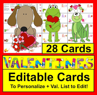 https://www.teacherspayteachers.com/Product/Editable-Valentines-Personalize-for-Students-Year-After-Year-Love2SaveSale-200356