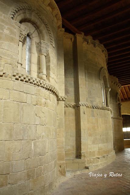 Ábsides románicos de la Iglesia de Santa María de Ujué