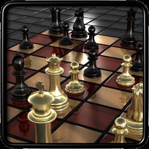 صورة توضح شعار لعبة الشطرنج للموبايل والكمبيوتر