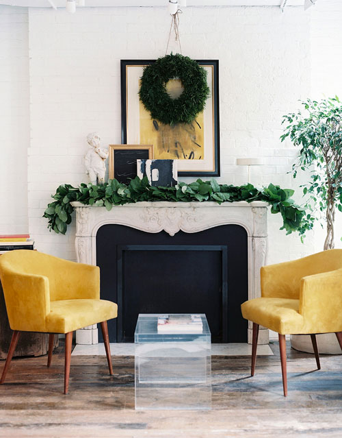 The Peak of Très Chic: Fireplace Lust