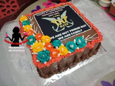 Kue Happy Anniversary ke 6 TRIMATRA BATTIX
