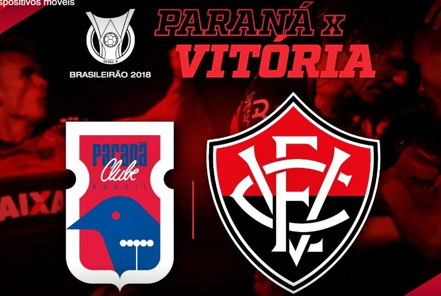 Assistir Paraná x Vitória ao vivo HD pelo Campeonato Brasileiro 1