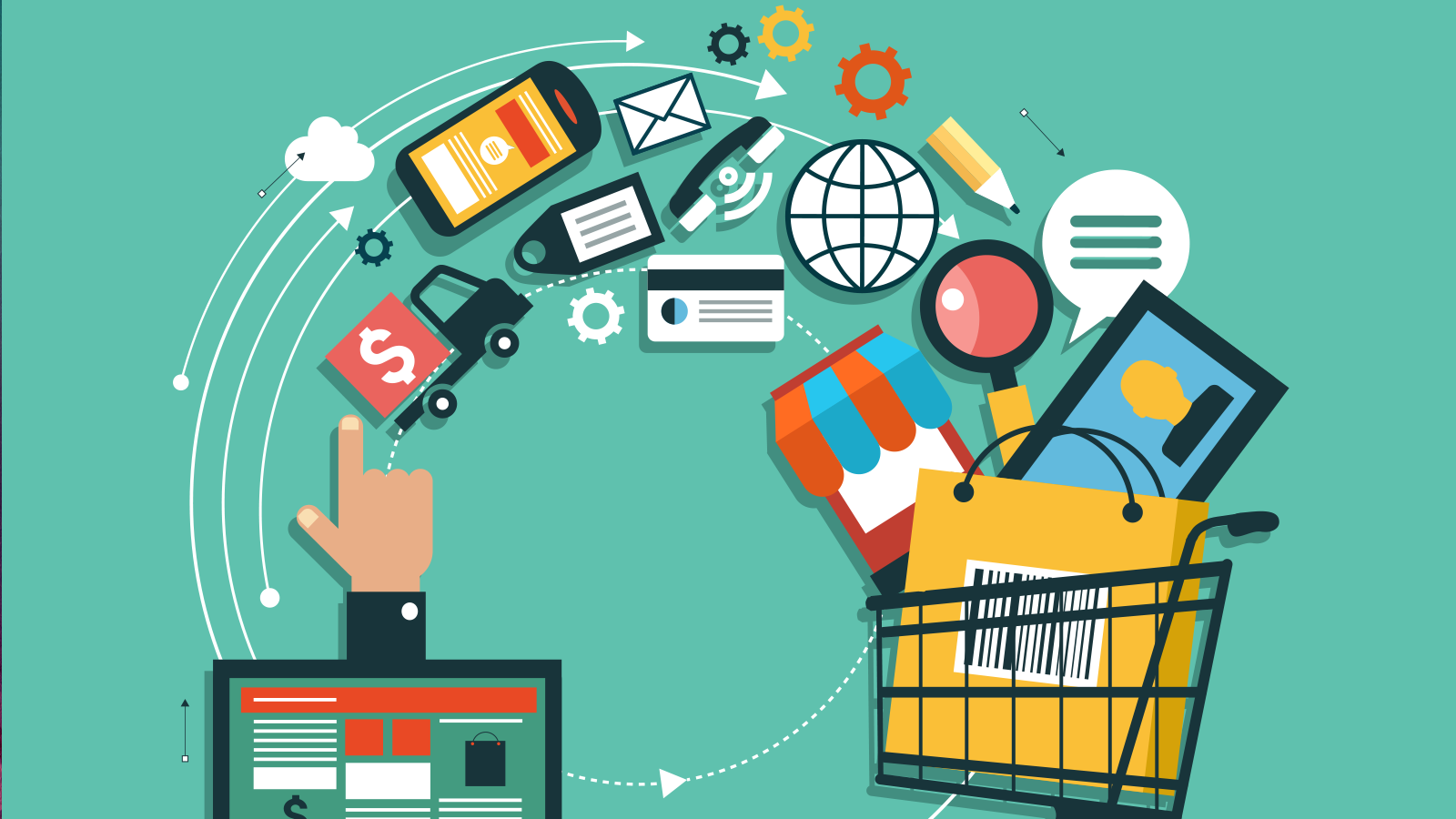 ecommerce business E-commerce businesses can require a more detailed valuation compared to other business models due to the variety of costs involved in running the business.