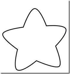 Hình tô màu ngôi sao cho bé hai tuổi