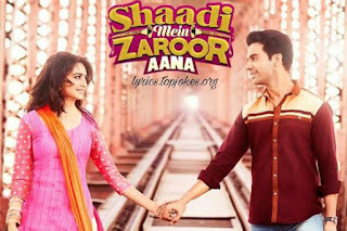 Mera Intekam Dekhegi From Shaadi Mein Zaroor Aana: This song is in voice of Krishna Beura,  composed by Anand Raj Anand while lyrics is penned by Gaurav Krishna Bansal.