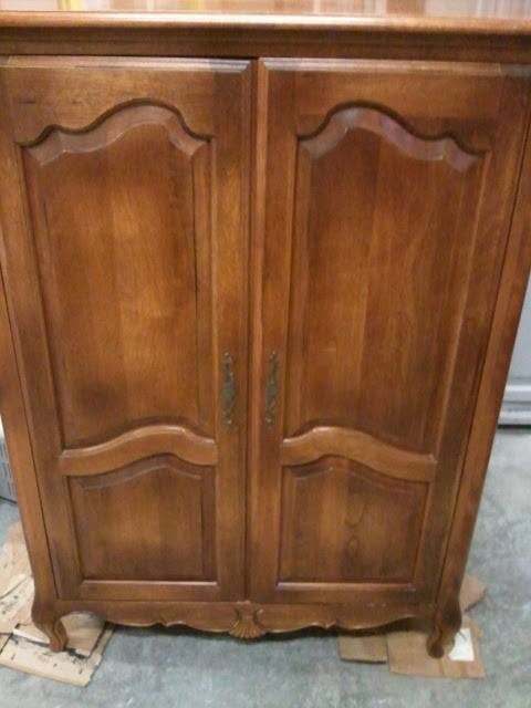 This, That and Life: French Television Armoire by Ethan Allen