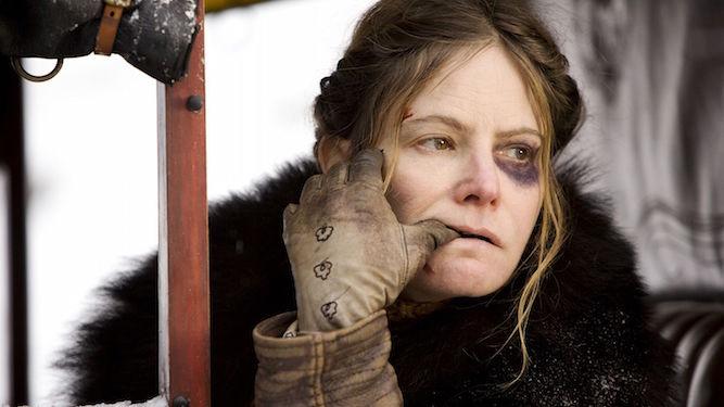 Jennifer Jason Leigh en los odiosos ocho