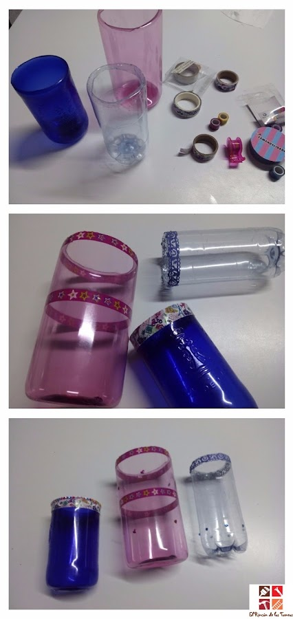 diy reciclar botellas de plastico