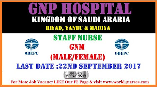 WALK-IN INTERVIEW FOR  GNM  NURSES-DENTAL CLINICS  (MALE / FEMALE )