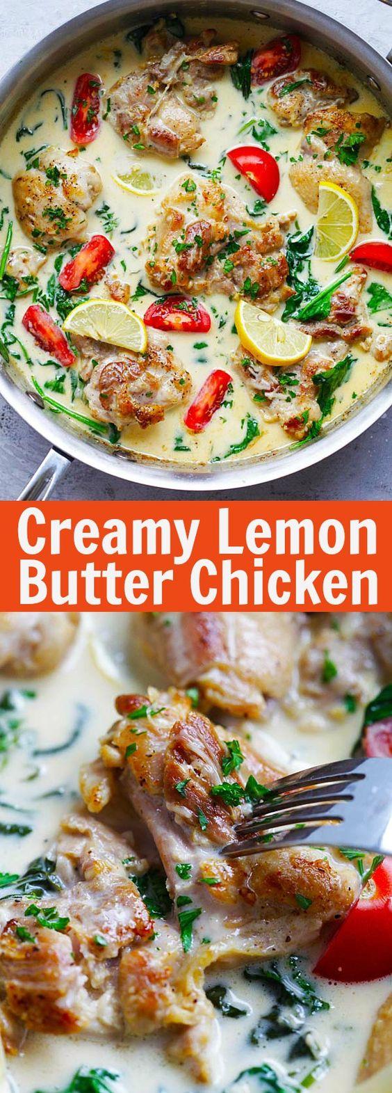 Lemon Butter Chicken Recipe